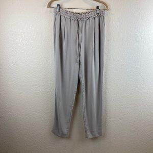ZARA Basic Light Gray Loose Pants Size S
